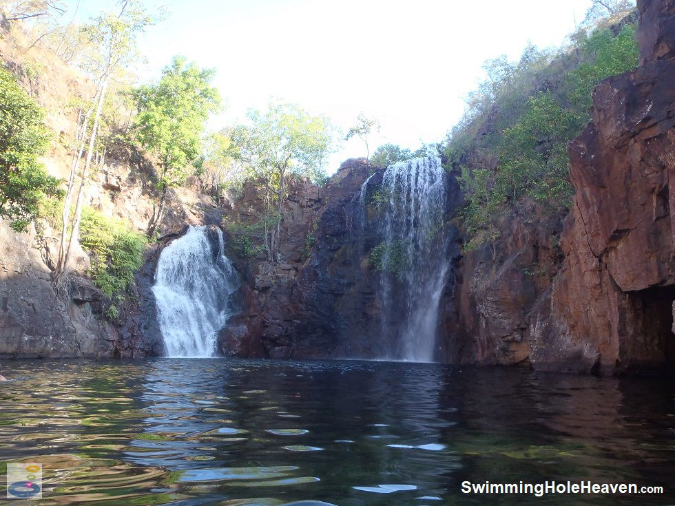 Swimming at Florence Falls in Litchfield National Park
