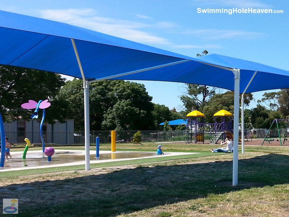 Shaded Area at Midlands Aquatic Playspace in North Ballarat