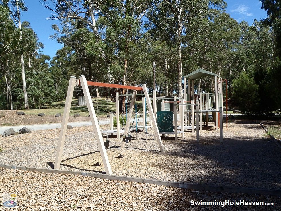 Kids playground at Picnic Point in Longwarry North, Gippsland
